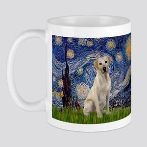Starry Night Yellow Lab Mug
