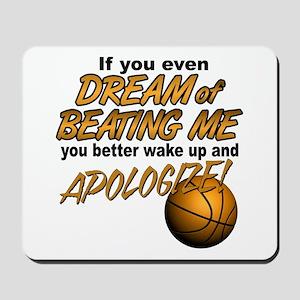 Basketball Dreaming Mousepad