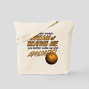 Basketball Dreaming Tote Bag