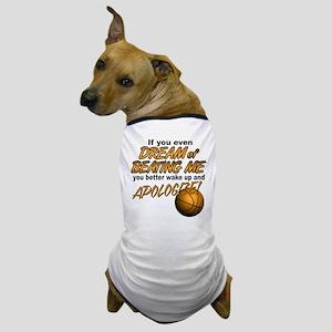 Basketball Dreaming Dog T-Shirt