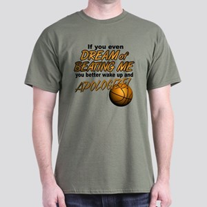 Basketball Dreaming Dark T-Shirt