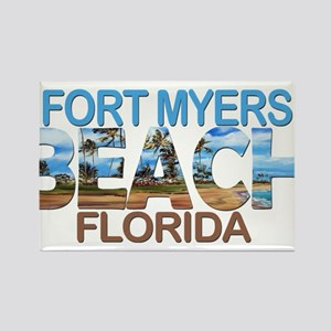 Summer fort myers- florida Magnets