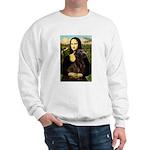 Mona & her Chocolate Lab Sweatshirt
