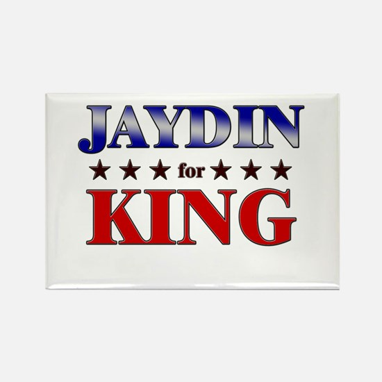 JAYDIN for king Rectangle Magnet