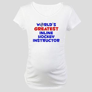 World's Greatest Inlin.. (A) Maternity T-Shirt