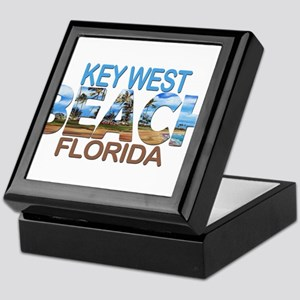 Summer key west- florida Keepsake Box