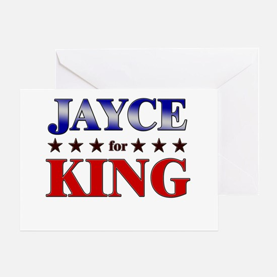 JAYCE for king Greeting Card