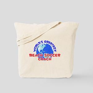 World's Greatest Beach.. (E) Tote Bag