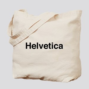 Just Helvetica Tote Bag