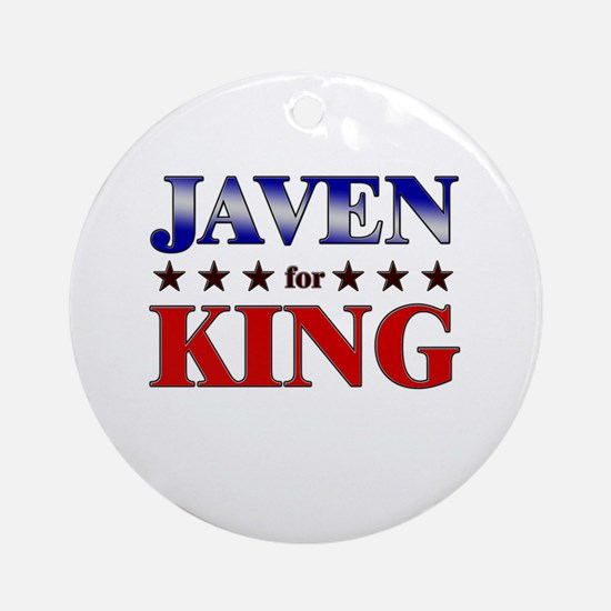 JAVEN for king Ornament (Round)