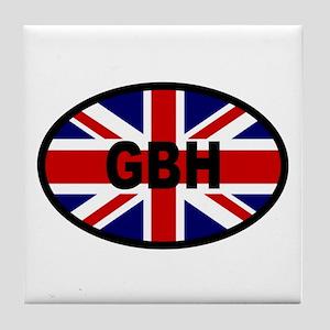 GB Sticker-GBH Design Tile Coaster