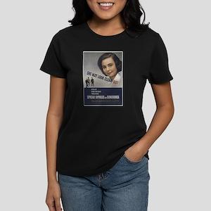 She May look... Women's Dark T-Shirt