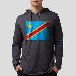 Flag of Democratic Republic of Long Sleeve T-Shirt