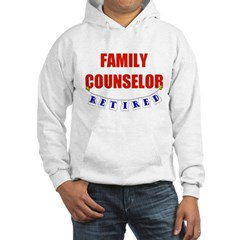 Retired Family Counselor Hoodie
