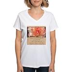 Mathew 6:30 Women's V-Neck T-Shirt