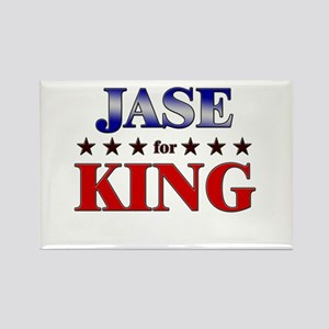 JASE for king Rectangle Magnet