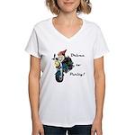 Driven to Purity Women's V-Neck T-Shirt