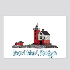 The Round Island Postcards (Package of 8)