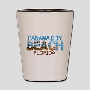 Summer panama city- florida Shot Glass