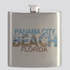 Summer panama city- florida Flask