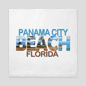 Summer panama city- florida Queen Duvet