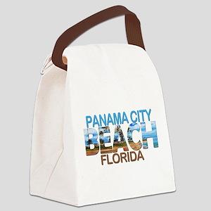 Summer panama city- florida Canvas Lunch Bag