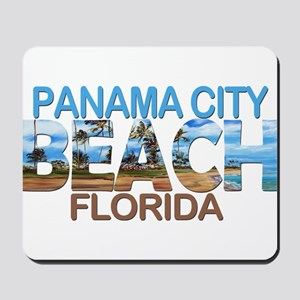 Summer panama city- florida Mousepad