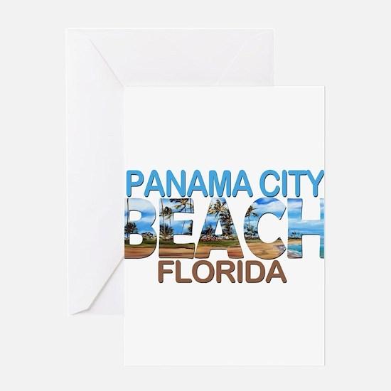 Summer panama city- florida Greeting Cards
