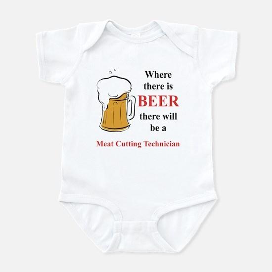 Meat Cutting Technician Infant Bodysuit