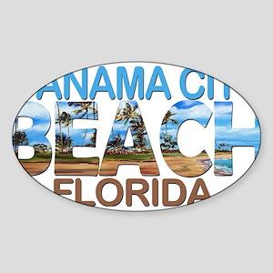 Summer panama city- florida Sticker