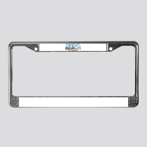 Summer panama city- florida License Plate Frame