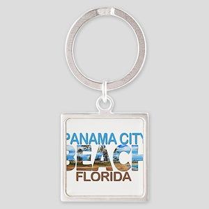 Summer panama city- florida Keychains