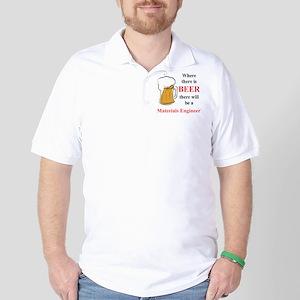 Materials Engineer Golf Shirt