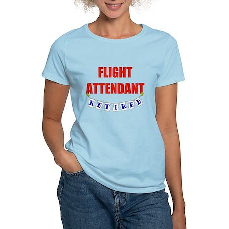 Retired Flight Attendant Women's Light T-Shirt