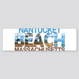 Summer nantucket- massachusetts Bumper Sticker