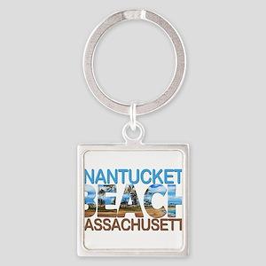 Summer nantucket- massachusetts Keychains