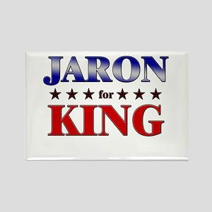 JARON for king Rectangle Magnet