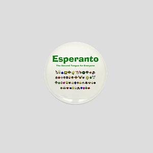 Esperanto Mini Button