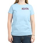 DITA Women's Pink T-Shirt