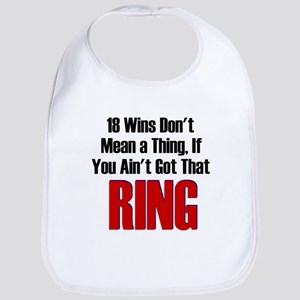 18 Wins...No Ring Bib