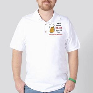 Power Plant Operator Golf Shirt