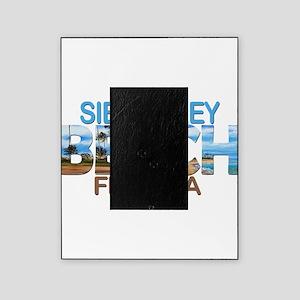 Summer siesta key- florida Picture Frame