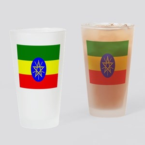 Flag of Ethiopia Drinking Glass