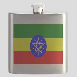 Flag of Ethiopia Flask