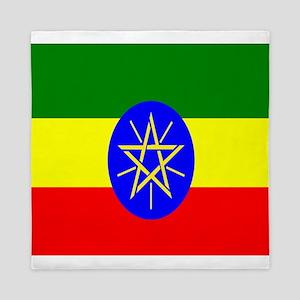 Flag of Ethiopia Queen Duvet