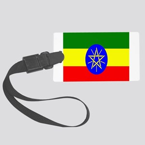 Flag of Ethiopia Large Luggage Tag
