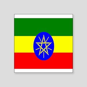 Flag of Ethiopia Sticker