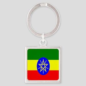 Flag of Ethiopia Keychains