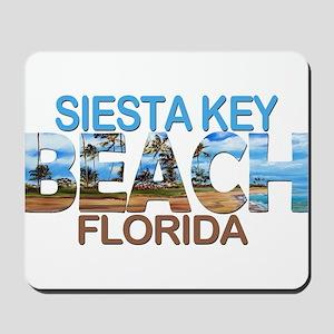 Summer siesta key- florida Mousepad