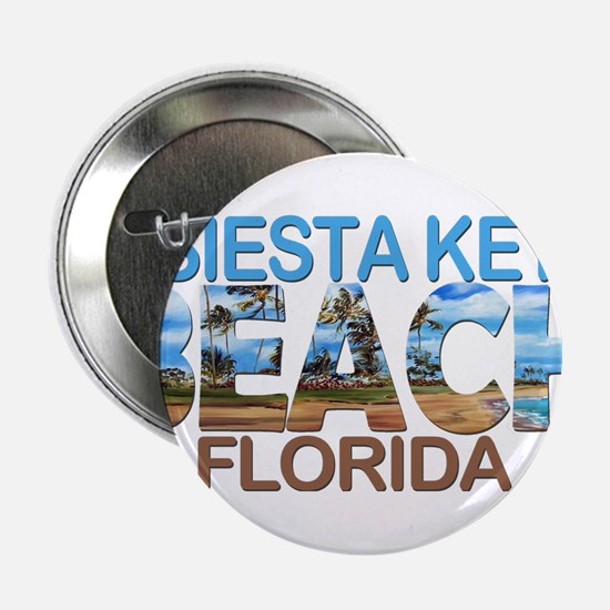 "Summer siesta key- florida 2.25"" Button"